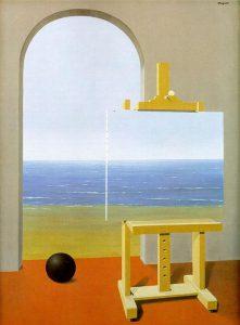 Renè Magritte, La condizione umana, 1935