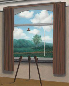René Magritte, La condizione umana, 1933