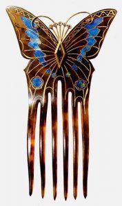 Georges Fouquet, spillone per capelli su disegno di Alfons Mucha