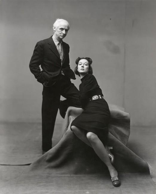 Irving Penn, Max Ernst e Dorothea Penning, 1947