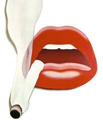 Tom Wesselmann, Smoker 1 (Mouth 12), 1967