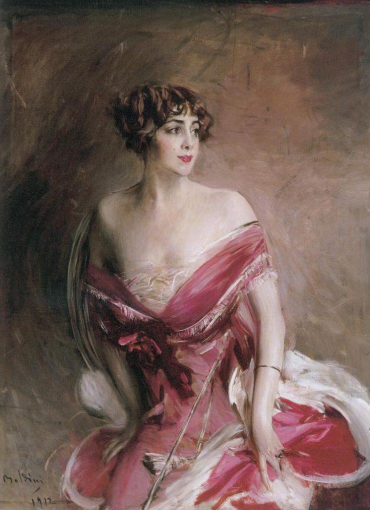 Giovanni Boldini, La Signora di Biarritz, 1912