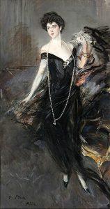 Giovanni Boldini, Ritratto di donna Franca Florio, 1924