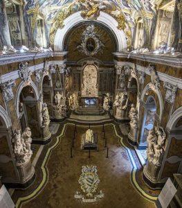 Cappella Sansevero di Napoli, interno