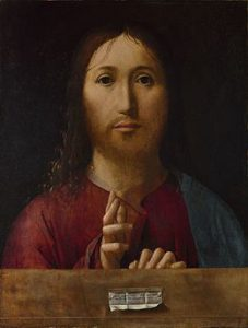 Antonello da Messina, Salvator Mundi, 1465-1475