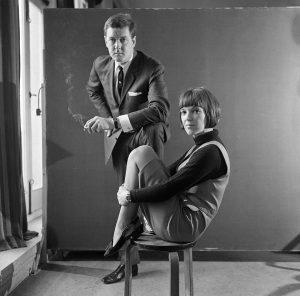 John Cowan, Mary Quant e Alexander Plunket Greene, 1963
