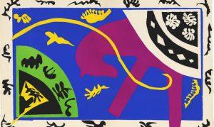 Henri Matisse, Il cavallo, il cavaliere e il clown, dalla raccolta Jazz, 1947