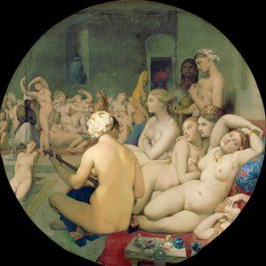 Jean-Auguste-Dominique Ingres, Il bagno turco, 1862