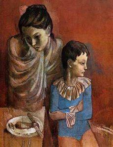 Pablo Picasso, Madre e figlio, 1905