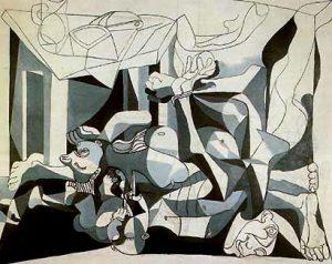 Pablo Picasso, Ossario, 1944-1945