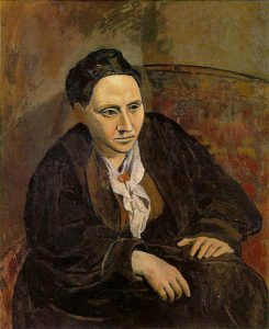 Pablo Picasso, Ritratto di Gertrude Stein, 1905-1906