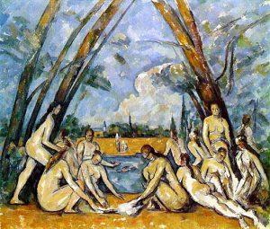 Paul Cézanne, Le grandi bagnanti, 1906