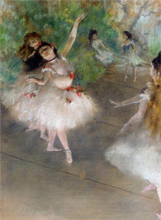 Edgar Degas, Ballerine, 1878
