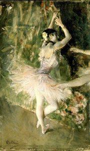 Giovanni Boldini, A scuola di ballo, 1880