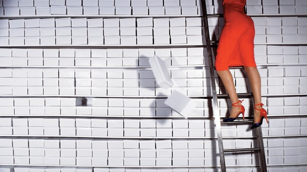 Guy Bourdin, Campagna per Charles Jourdan, Autunno 1977
