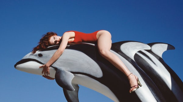 Guy Bourdin, Campagna per Charles Jourdan, Estate 1976