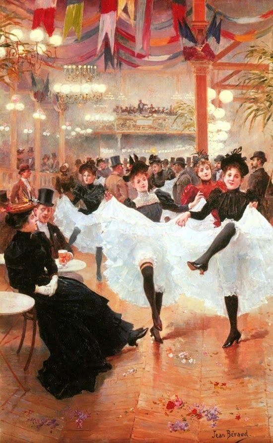 Jean Béraud, Il Café de Paris, 1890 circa