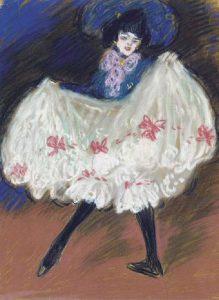 Pablo Picasso, La ballerina, 1901