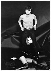 Willy Rizzo, Guy Bourdin e Nicole de la Marge, 1965