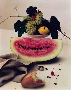 Irving Penn, Natura morta con anguria, 1947