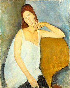 Amedeo Modigliai, Jeanne Hébuterne, 1918