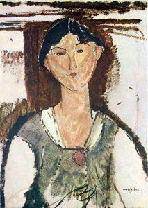 Amedeo Modigliani, Ritratto di Beatrice Hastings, 1915