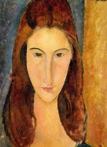 Amedeo Modigliani, Ritratto di Jeanne Hébuterne, 1919