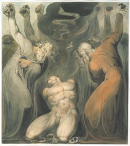 William Blake, Il bestemmiatore, 1800