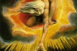 William Blake, L'antico dei giorni, 1794