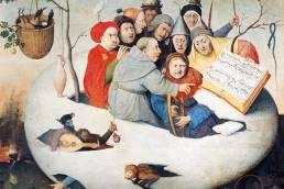Hieronymus Bosch, Il concerto nell'uovo, copia del XVI secolo