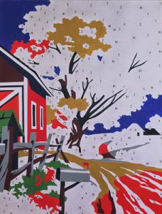 Andy Warhol, Do it yourself (Landscape), 1962