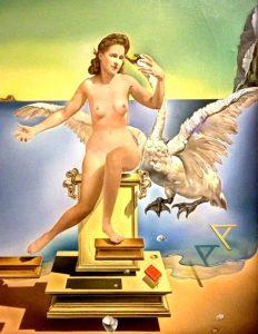 Salvador Dalí, Leda Atomica, 1949 - (Gala nei panni di Leda)