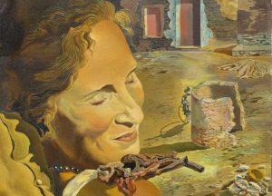 Salvador Dalí, Ritratto di Gala, 1934