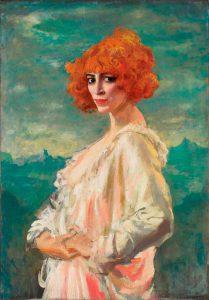 Augustus John, Ritratto della Marchesa Luisa Casati, 1919