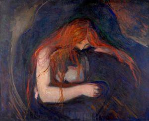 Edvard Munch, Vampiro, 1893-1895