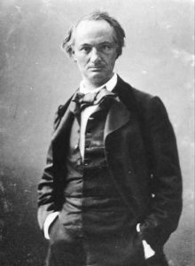 Félix Nadar, Ritratto di Charles Baudelaire, 1855-1858