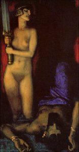 Franz von Stuck, Giuditta e Oloferne, 1924