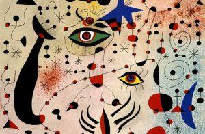 Joan Mirò, Costellazione amorosa, 1940