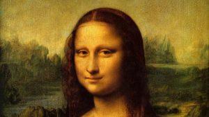 Leonardo da Vinci, Gioconda, 1503-1504, dettaglio