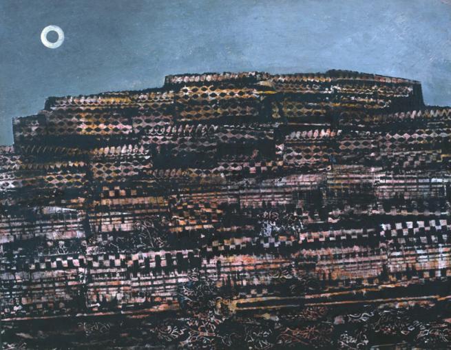 Max Ernst, La città intera, 1934 - Frottage
