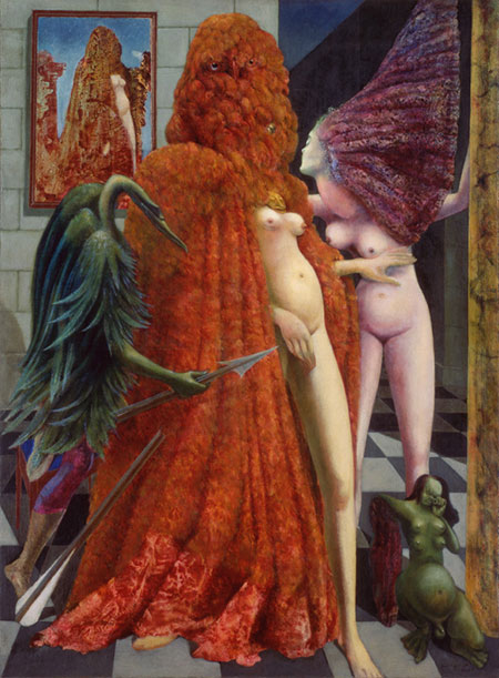 Max Ernst, La vestizione della sposa, 1939-1940