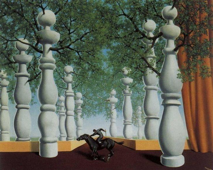 René Magritte, Il fantino perduto, 1942