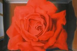René Magritte, La rosa reclusa, 1955