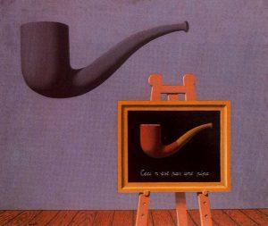 René Magritte, I due misteri, 1966