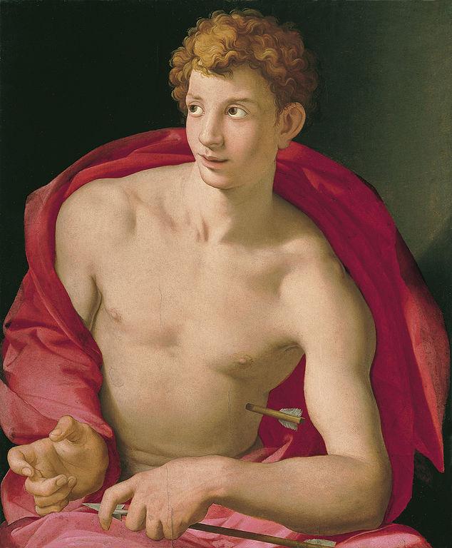 Agnolo Bronzino, San Sebastiano, 1533