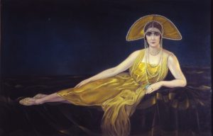 Alberto Martini, Ritratto di Wally Toscanini, 1925
