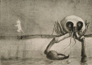 Alfred Kubin, Il momento della nascita, 1902