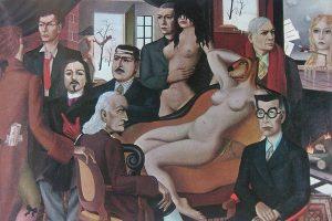 Felix Labisse, La mattina poetica, 1944