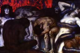 Franz von Stuck, Inferno, 1908