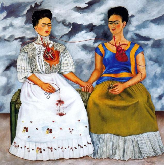 Frida Kahlo, Le due Frida, 1939